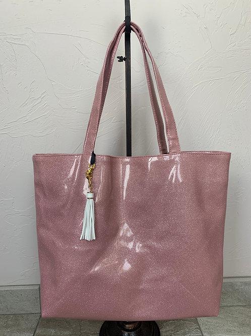 Makeup Junkie Bags Ballerina Glitter Weekender