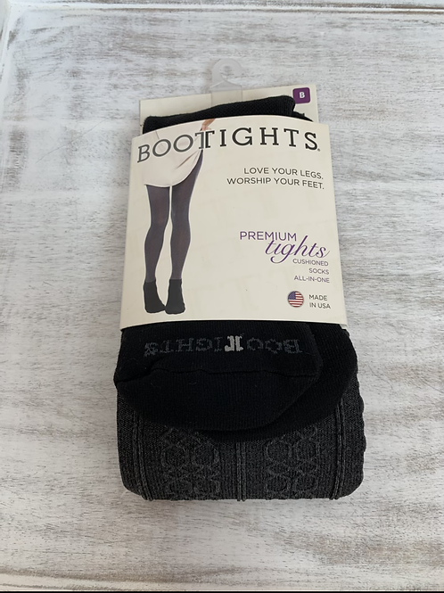 Boot Tights Cable Knit Tights