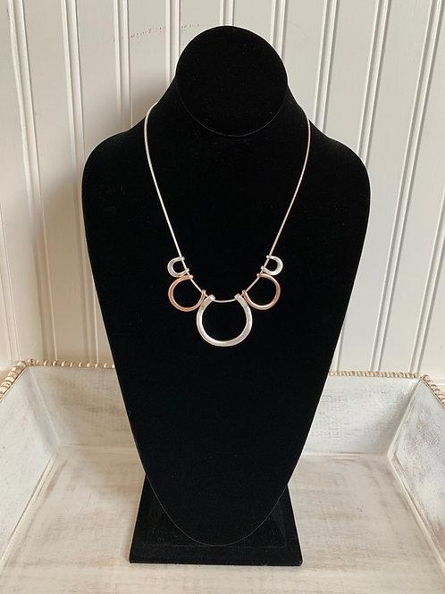 Lauren Michael Blush Silver Chain Necklace