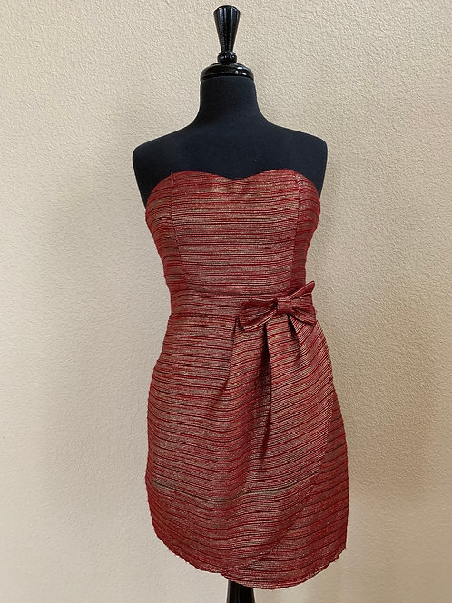 YA Tube Dress with Front Bow