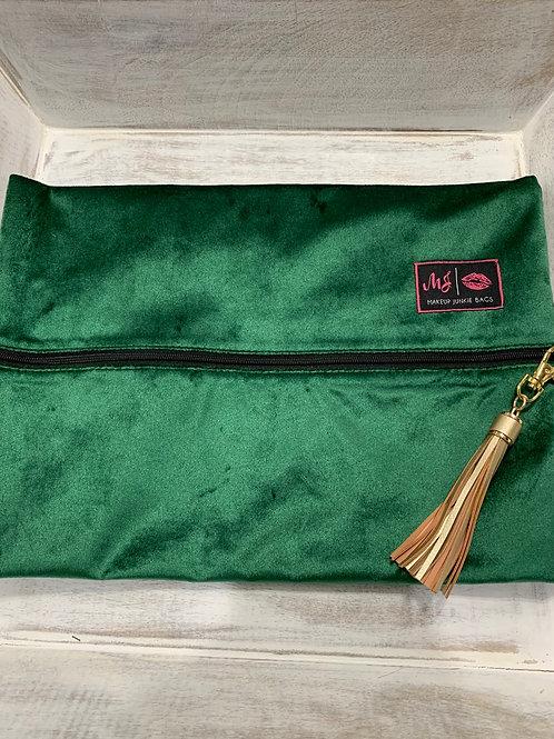 Makeup Junkie Bags Emerald Large