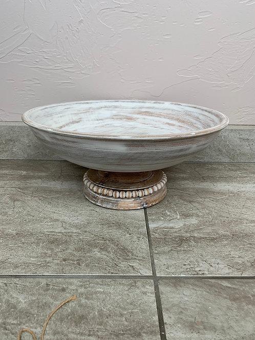 Mud Pie Beaded Pedestal Bowl
