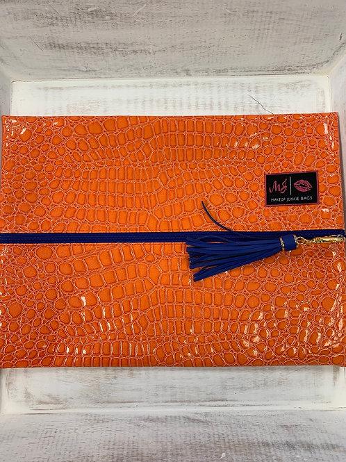Makeup Junkie Bags Orange Gator Large