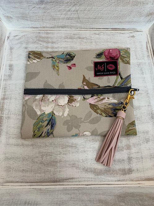 Makeup Junkie Bags Destash Floral Small