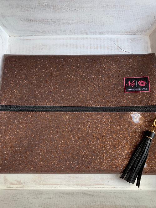 Makeup Junkie Bags Bourbon Glitter Large