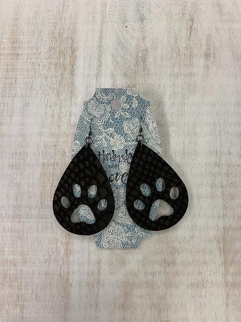 MistiC Pawprint Dangle Earrings