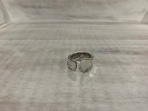 Lauren Michael Silver Open Ring