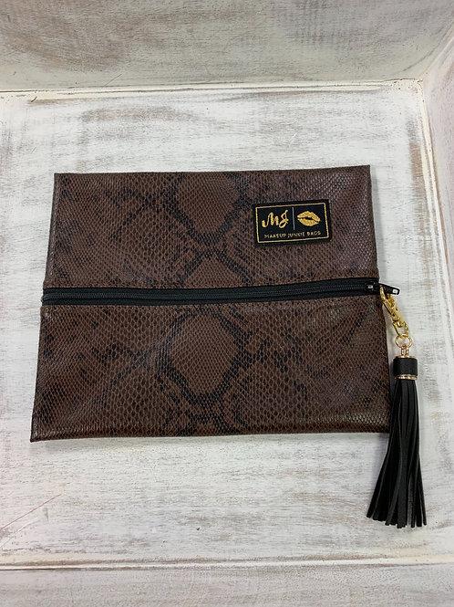 Makeup Junkie Bags Python Small