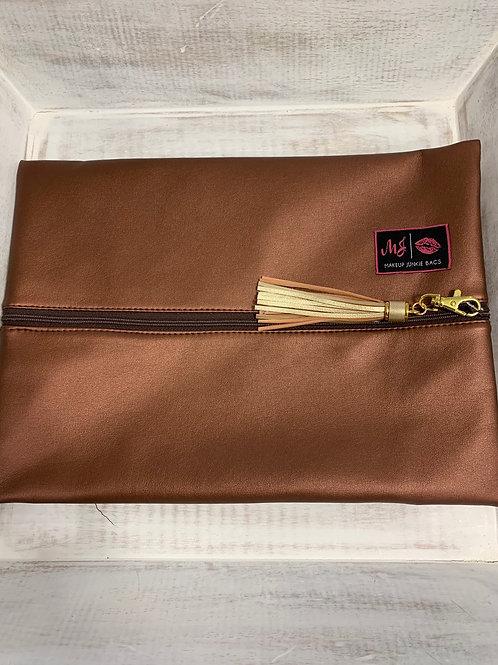 Makeup Junkie Bags Copper Large