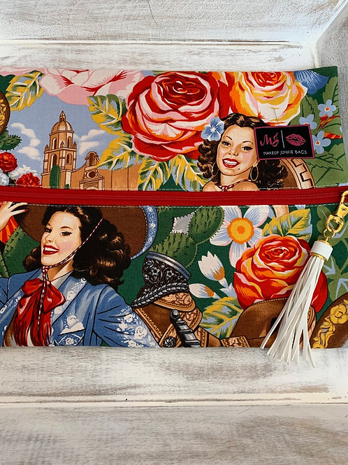 Makeup Junkie Bags Turnkey Drop Señorita Large
