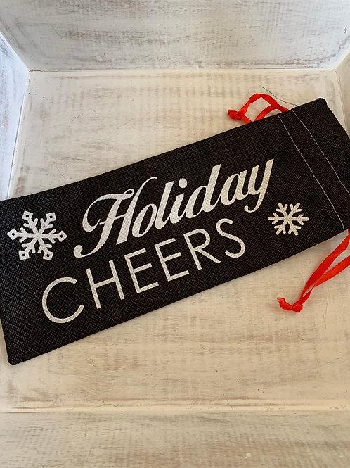 Giftcraft Holiday Wine Bag