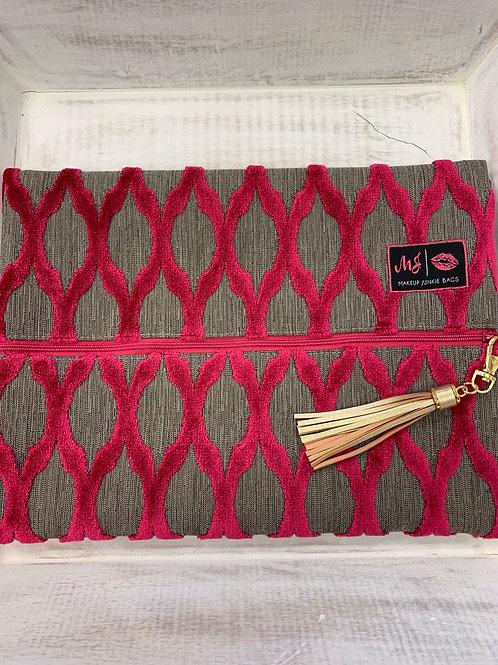 Makeup Junkie Bags Duchess Pink Large