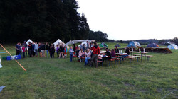Zeltlager 16 - Essen im Freien