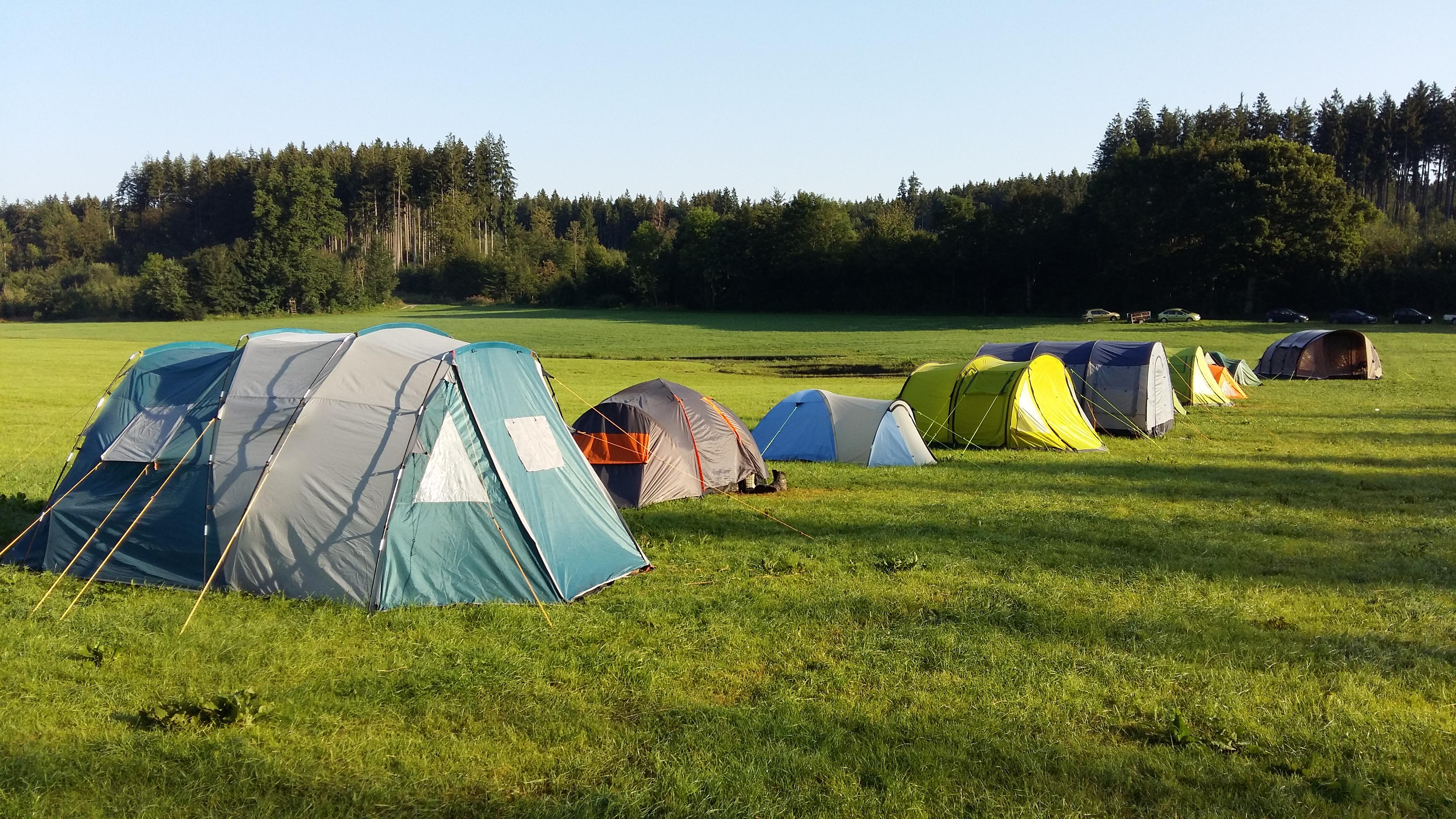 Zeltlager 16 - Kinderzelte