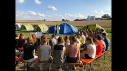 2019 - Gottesdienst im Zeltlager