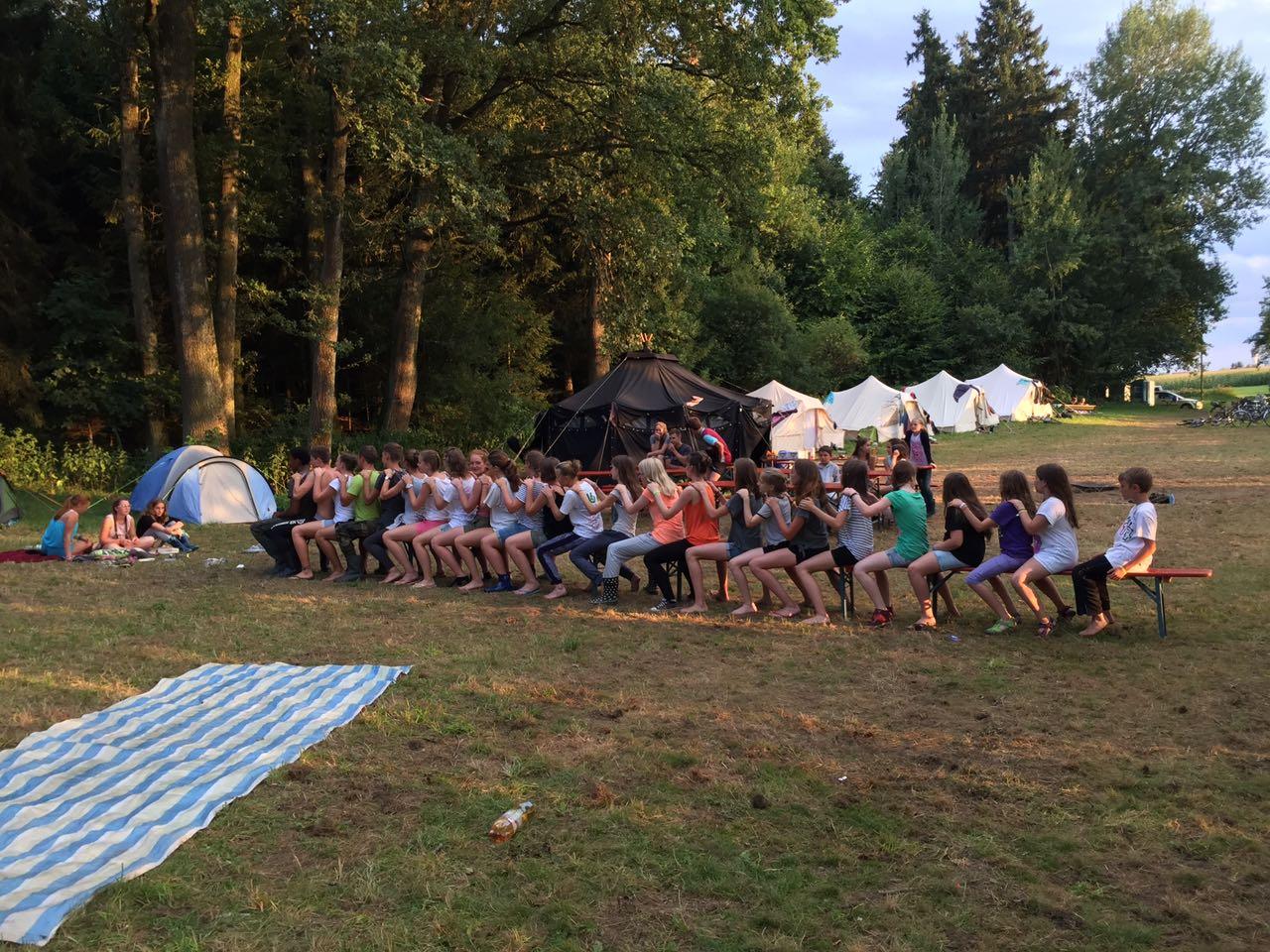 Zeltlager 17 - Spielen