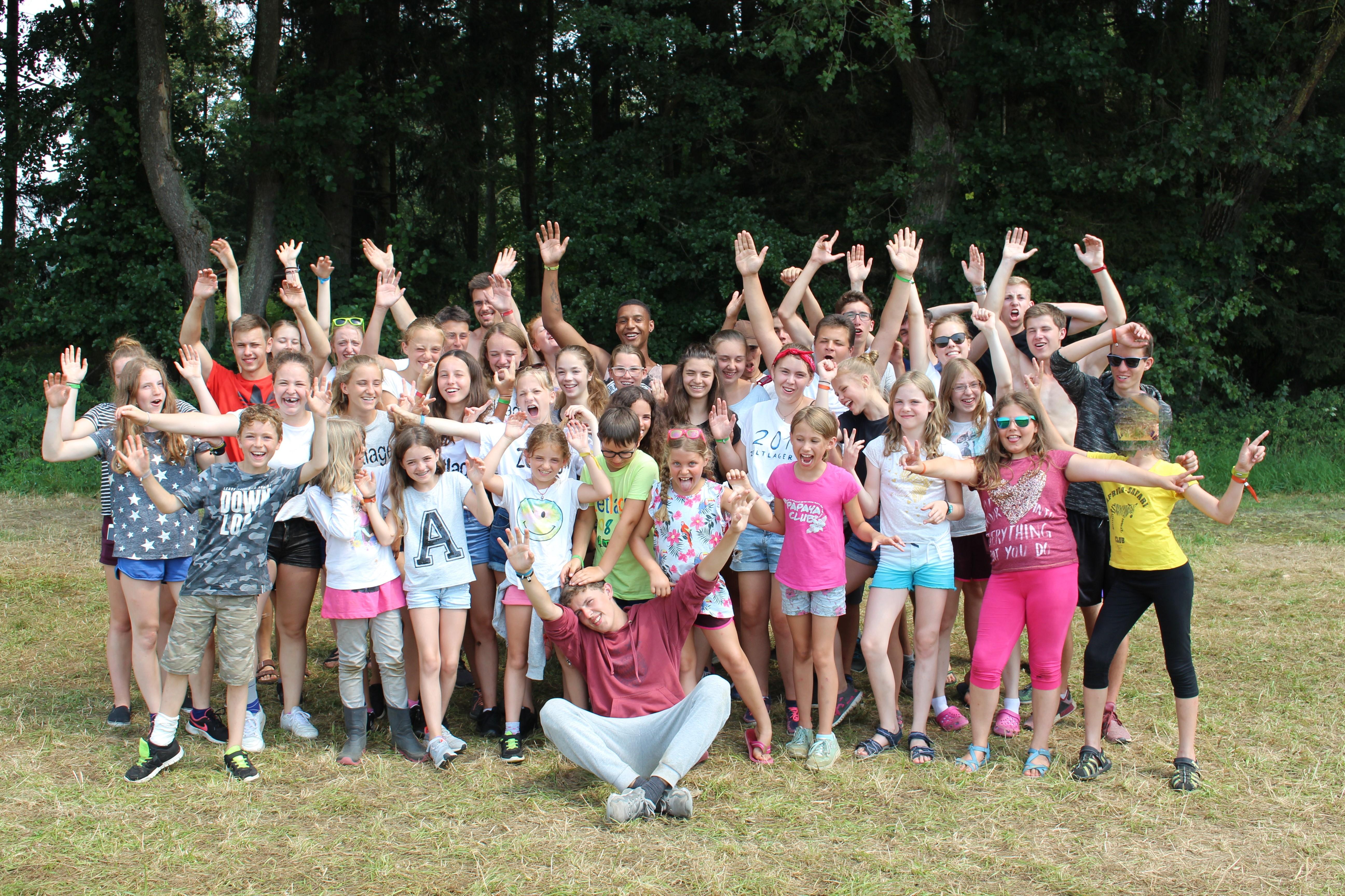 Zeltlager 18 - Gruppenfoto