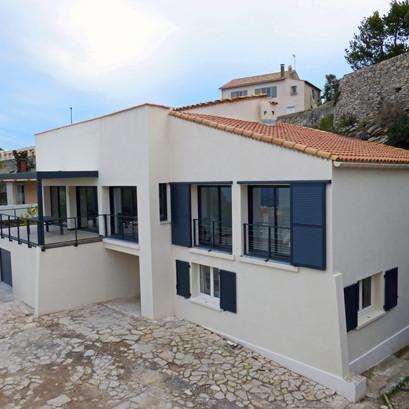 Restructuration maison Sète