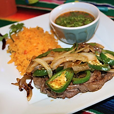 Ribeye a la Mexicana