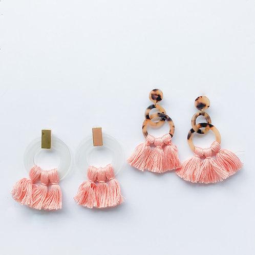 Peach Tassels