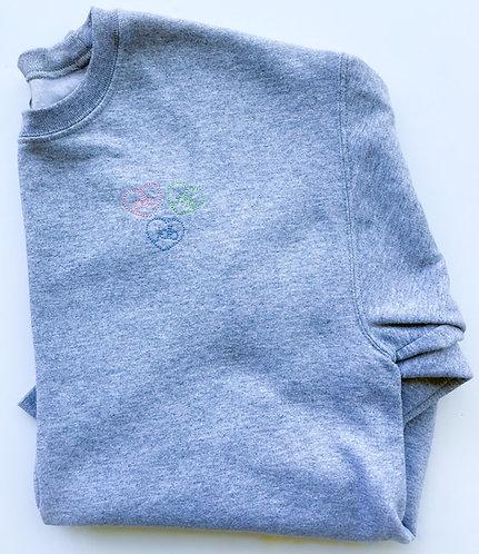 Ladies Tiny Love Sweatshirt