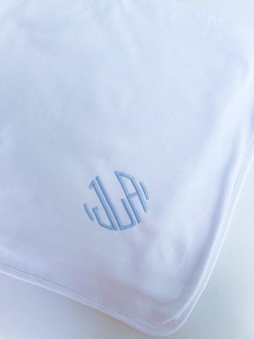Stroller Blanket with Monogram