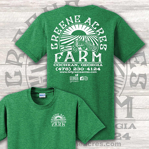 GAF Graphic T-Shirt - GREEN