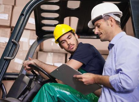 Toolbox Talk: Hazards of Forklift Operations