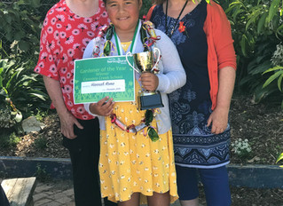 Gardener of the Year at Cannons Creek School