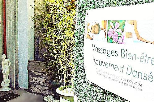 3 séances de massage californien de 1h