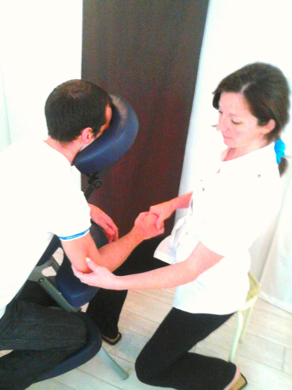 Massage assis 25 min