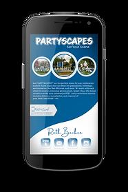 Cartâo Interativo Digital de Partyscapes. IntroCard