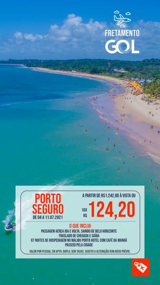 Porto Seguro Fretamento 7 dias
