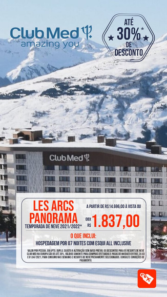 Club Med Les Arcos Panorama