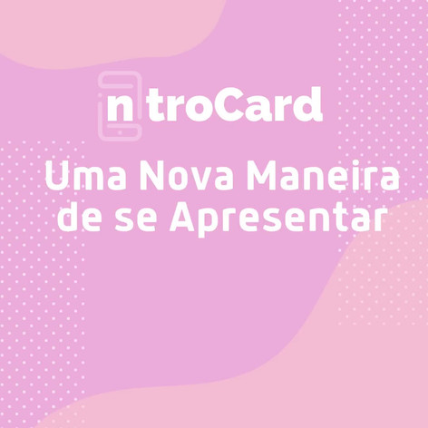 IntroCard Peça Promocional
