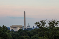 DC Panoramic View of Monuments