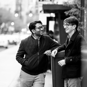 John & Noro in Philly