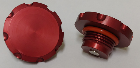 Billet Aluminum Oil Cap with N54 Neodymium Magnet