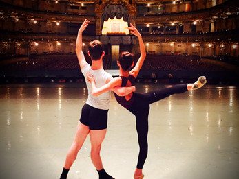 Austen Acevedo and partner Kenedy Kallas, first youth American Dancers to perform at The Mariinsky T