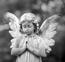 stone mason headstone angel