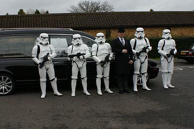star wars stormtrooper funeal