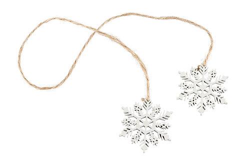 2 Snöflingor på rep