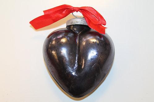 Glashjärta mörkt