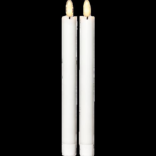LED Antikljus 25cm 2-pack