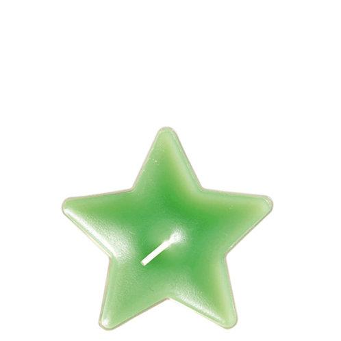 Värmeljus stjärna grön