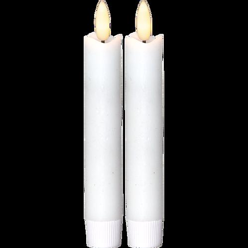 LED Antikljus 15cm 2-pack