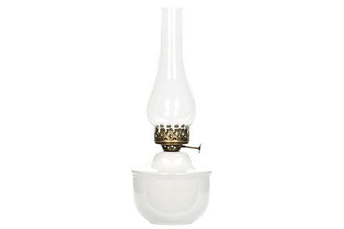 Lampa för värmeljus vit