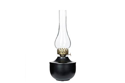 Lampa för värmeljus svart