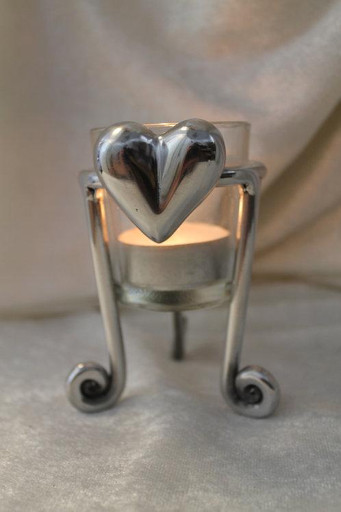 Ljuskopp 3-fot med hjärta