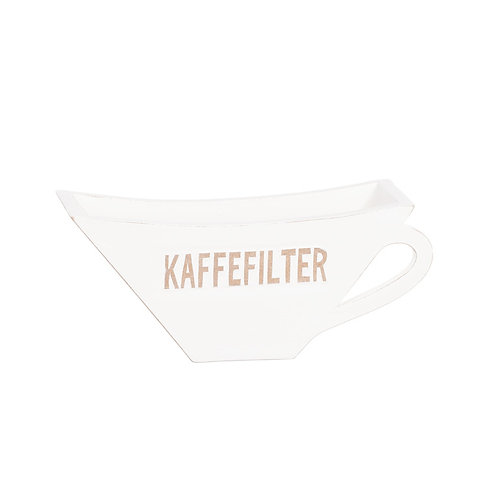 Trälåda Kaffefilter